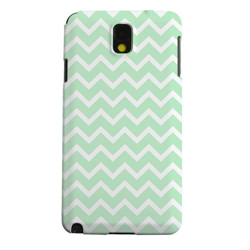Geeks Designer Line (GDL) Samsung Galaxy Note 3 Matte Hard Back Cover - White on Mint