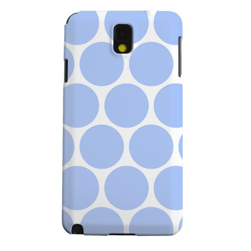 Geeks Designer Line (GDL) Samsung Galaxy Note 3 Matte Hard Back Cover - Big & Sky Blue
