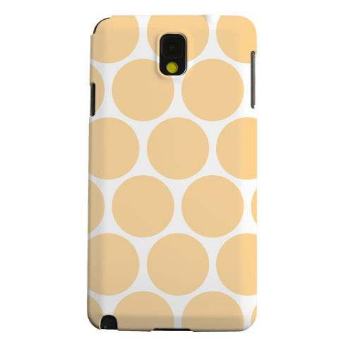 Geeks Designer Line (GDL) Samsung Galaxy Note 3 Matte Hard Back Cover - Big & Orange
