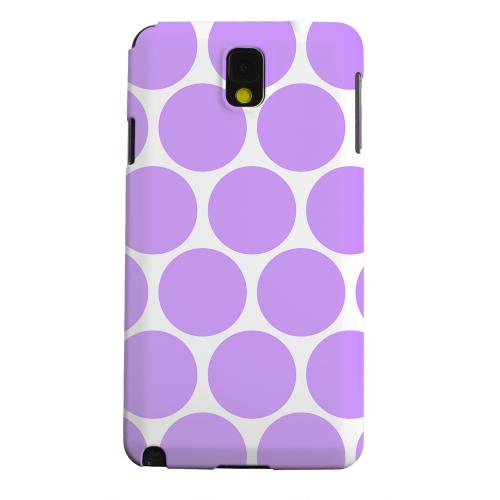 Geeks Designer Line (GDL) Samsung Galaxy Note 3 Matte Hard Back Cover - Big & Purple
