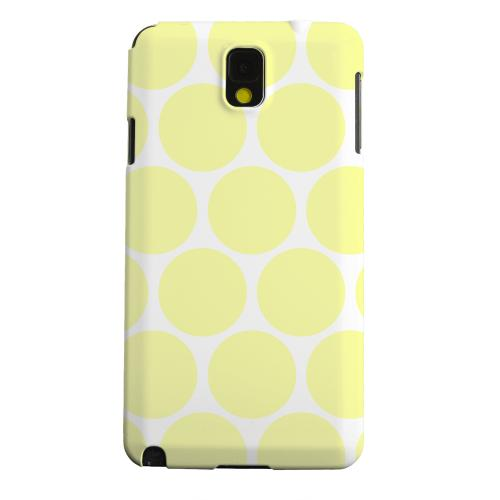 Geeks Designer Line (GDL) Samsung Galaxy Note 3 Matte Hard Back Cover - Big & Yellow