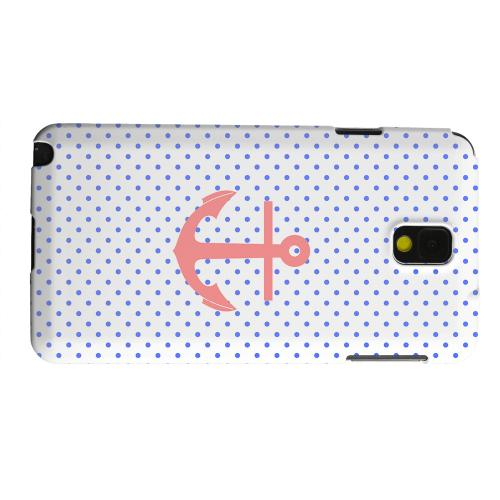 Geeks Designer Line (GDL) Samsung Galaxy Note 3 Matte Hard Back Cover - Anchor