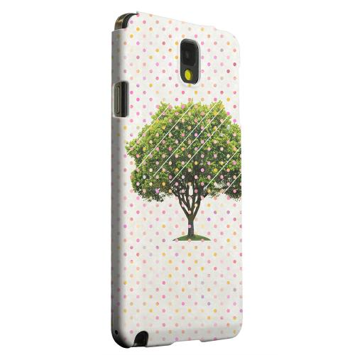 Geeks Designer Line (GDL) Samsung Galaxy Note 3 Matte Hard Back Cover - Tree