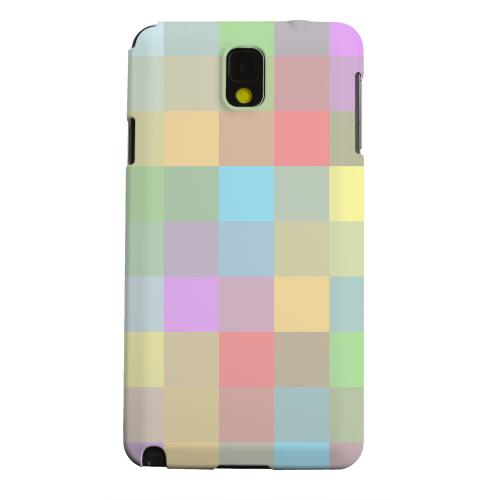 Geeks Designer Line (GDL) Samsung Galaxy Note 3 Matte Hard Back Cover - Pixelated