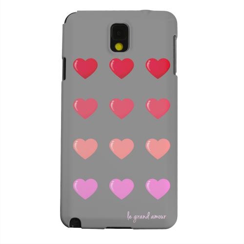 Geeks Designer Line (GDL) Samsung Galaxy Note 3 Matte Hard Back Cover - Le Grand Amour