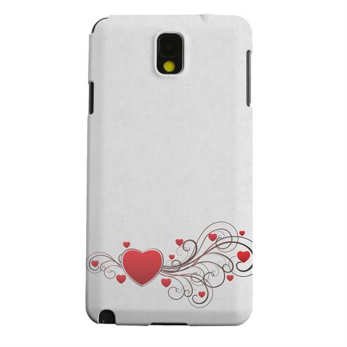 Geeks Designer Line (GDL) Samsung Galaxy Note 3 Matte Hard Back Cover - Love Bloom