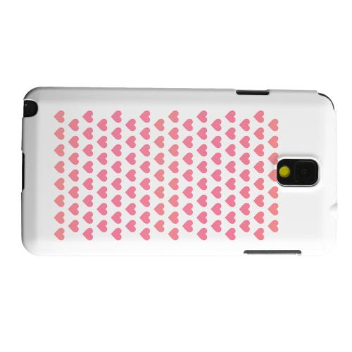 Geeks Designer Line (GDL) Samsung Galaxy Note 3 Matte Hard Back Cover - Miniature Hearts