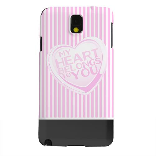 Geeks Designer Line (GDL) Samsung Galaxy Note 3 Matte Hard Back Cover - My Heart