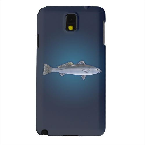 Geeks Designer Line (GDL) Samsung Galaxy Note 3 Matte Hard Back Cover - White Sea Bass