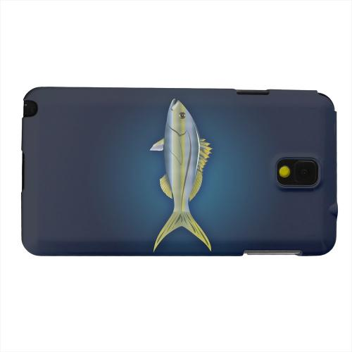 Geeks Designer Line (GDL) Samsung Galaxy Note 3 Matte Hard Back Cover - Yellowtail