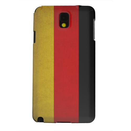 Geeks Designer Line (GDL) Samsung Galaxy Note 3 Matte Hard Back Cover - Grunge Germany