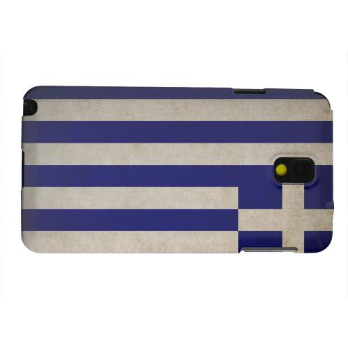 Geeks Designer Line (GDL) Samsung Galaxy Note 3 Matte Hard Back Cover - Grunge Greece