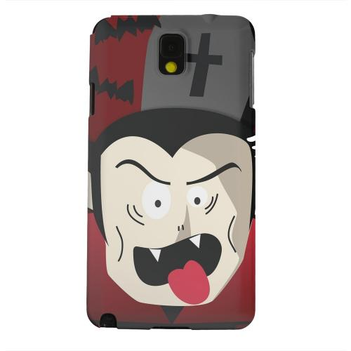 Geeks Designer Line (GDL) Samsung Galaxy Note 3 Matte Hard Back Cover - Immature Vampire