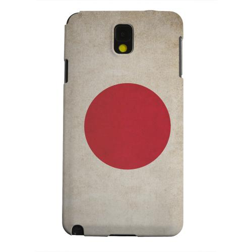 Geeks Designer Line (GDL) Samsung Galaxy Note 3 Matte Hard Back Cover - Grunge Japan