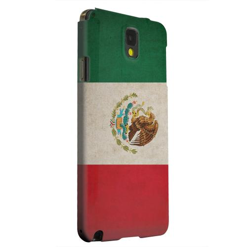 Geeks Designer Line (GDL) Samsung Galaxy Note 3 Matte Hard Back Cover - Grunge Mexico