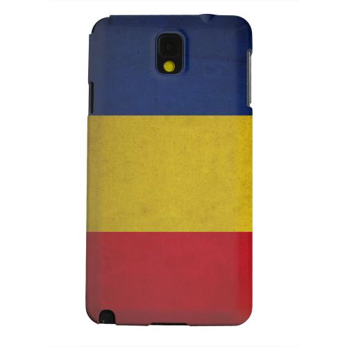 Geeks Designer Line (GDL) Samsung Galaxy Note 3 Matte Hard Back Cover - Grunge Romania