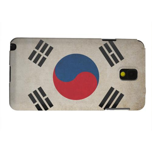 Geeks Designer Line (GDL) Samsung Galaxy Note 3 Matte Hard Back Cover - Grunge South Korea
