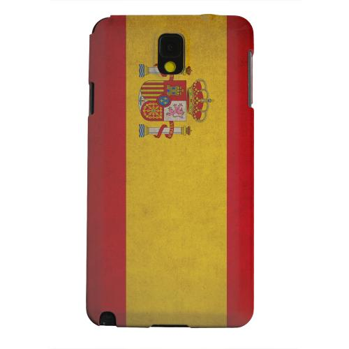 Geeks Designer Line (GDL) Samsung Galaxy Note 3 Matte Hard Back Cover - Grunge Spain