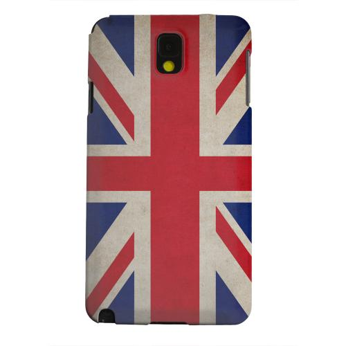 Geeks Designer Line (GDL) Samsung Galaxy Note 3 Matte Hard Back Cover - Grunge United Kingdom