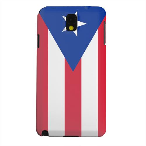Geeks Designer Line (GDL) Samsung Galaxy Note 3 Matte Hard Back Cover - Puerto Rico