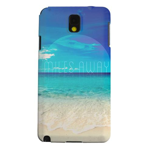 Geeks Designer Line (GDL) Samsung Galaxy Note 3 Matte Hard Back Cover - Miles Away