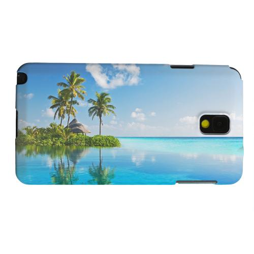 Geeks Designer Line (GDL) Samsung Galaxy Note 3 Matte Hard Back Cover - Tropical Paradise
