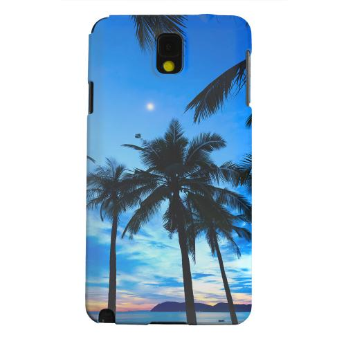 Geeks Designer Line (GDL) Samsung Galaxy Note 3 Matte Hard Back Cover - Tropical Sunset