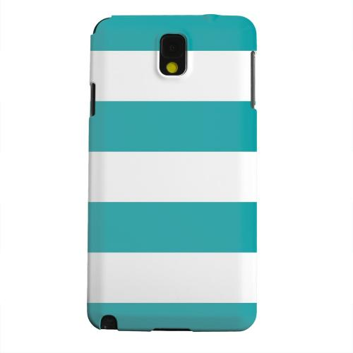 Geeks Designer Line (GDL) Samsung Galaxy Note 3 Matte Hard Back Cover - Big Aqua