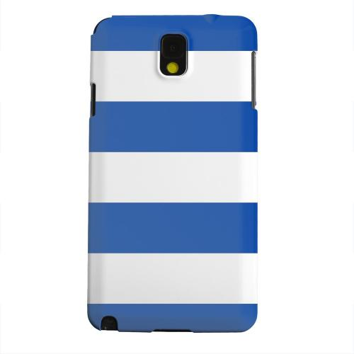 Geeks Designer Line (GDL) Samsung Galaxy Note 3 Matte Hard Back Cover - Big Blue