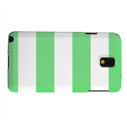 Geeks Designer Line (GDL) Samsung Galaxy Note 3 Matte Hard Back Cover - Big Green