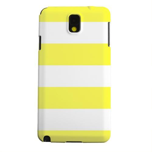 Geeks Designer Line (GDL) Samsung Galaxy Note 3 Matte Hard Back Cover - Big Yellow