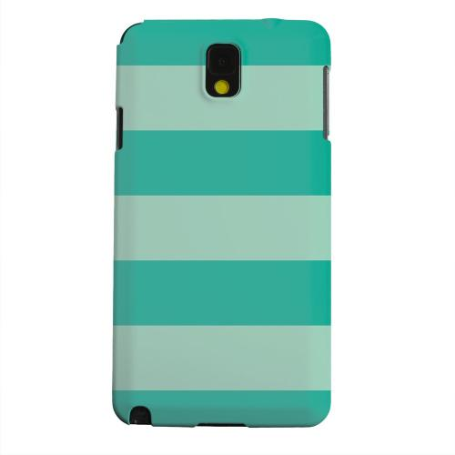 Geeks Designer Line (GDL) Samsung Galaxy Note 3 Matte Hard Back Cover - Emerald Grayed Jade