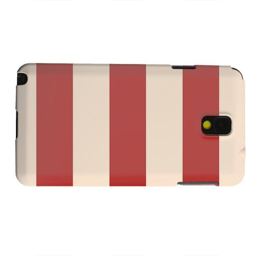 Geeks Designer Line (GDL) Samsung Galaxy Note 3 Matte Hard Back Cover - Linen Poppy Red