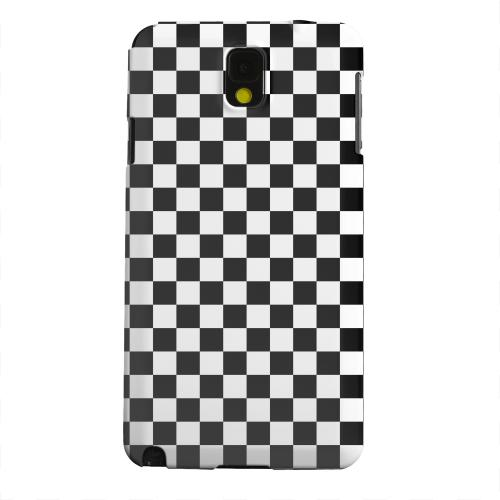 Geeks Designer Line (GDL) Samsung Galaxy Note 3 Matte Hard Back Cover - Black/ White