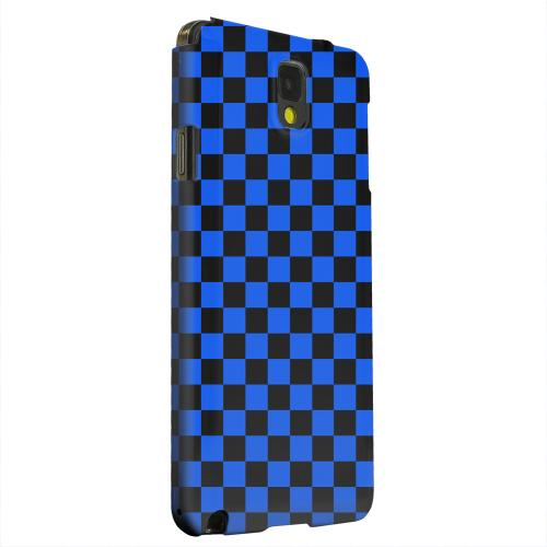 Geeks Designer Line (GDL) Samsung Galaxy Note 3 Matte Hard Back Cover - Blue/ Black