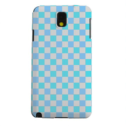 Geeks Designer Line (GDL) Samsung Galaxy Note 3 Matte Hard Back Cover - Blue Electric
