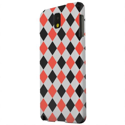 Geeks Designer Line (GDL) Samsung Galaxy Note 3 Matte Hard Back Cover - Charlatan Diamonds