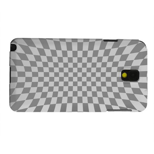 Geeks Designer Line (GDL) Samsung Galaxy Note 3 Matte Hard Back Cover - Distortion