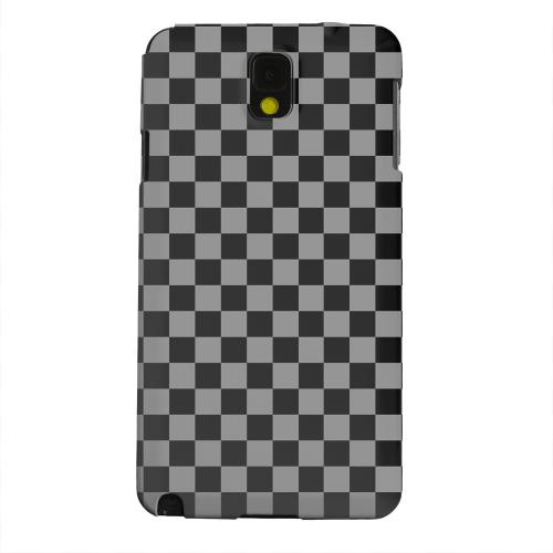 Geeks Designer Line (GDL) Samsung Galaxy Note 3 Matte Hard Back Cover - Gray/ Black