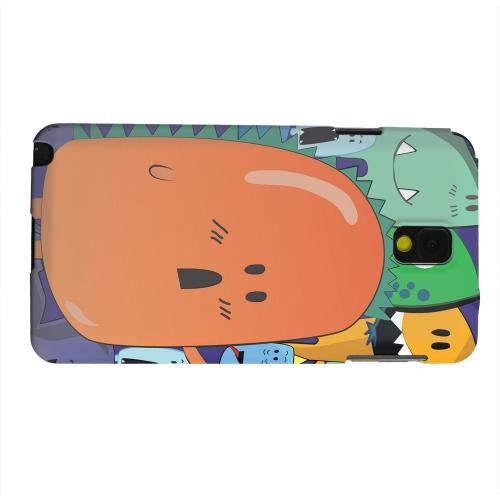 Geeks Designer Line (GDL) Samsung Galaxy Note 3 Matte Hard Back Cover - ZORGBLATS Orange Moob Close-Up