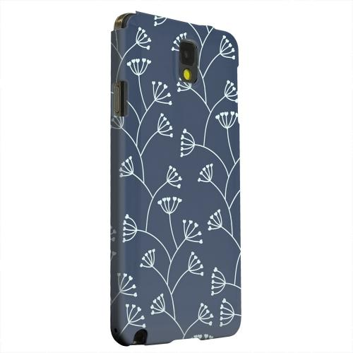 Geeks Designer Line (GDL) Samsung Galaxy Note 3 Matte Hard Back Cover - Simple Blue