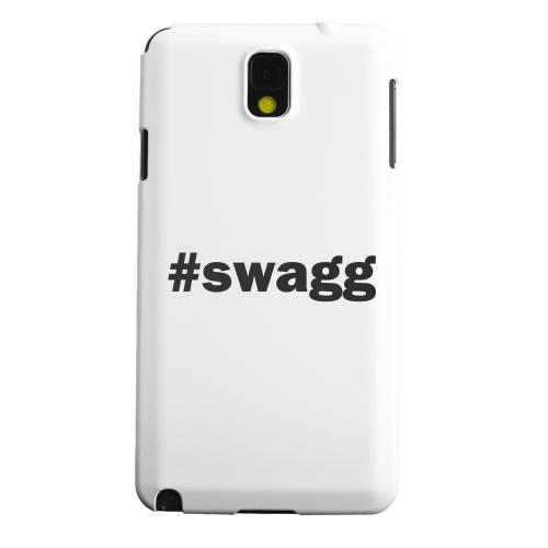 Geeks Designer Line (GDL) Samsung Galaxy Note 3 Matte Hard Back Cover - #Swagg