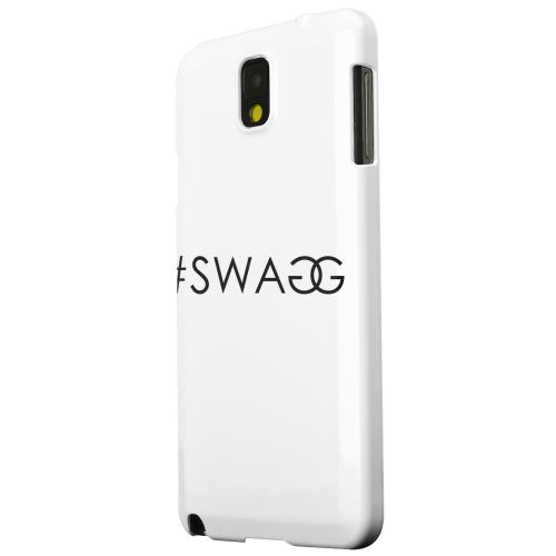 Geeks Designer Line (GDL) Samsung Galaxy Note 3 Matte Hard Back Cover - #Swaggy