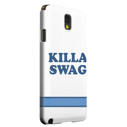 Geeks Designer Line (GDL) Samsung Galaxy Note 3 Matte Hard Back Cover - Killa Swag