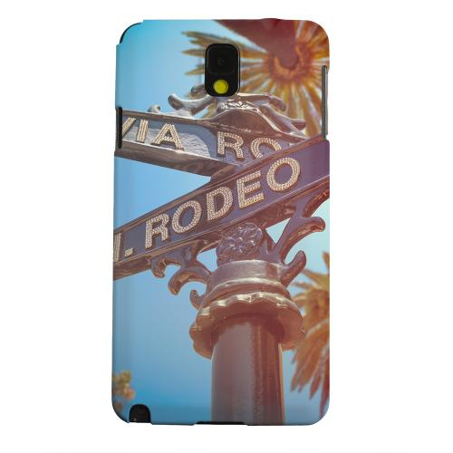Geeks Designer Line (GDL) Samsung Galaxy Note 3 Matte Hard Back Cover - Beverly Hills