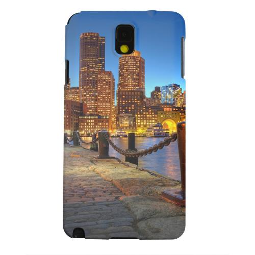 Geeks Designer Line (GDL) Samsung Galaxy Note 3 Matte Hard Back Cover - Boston