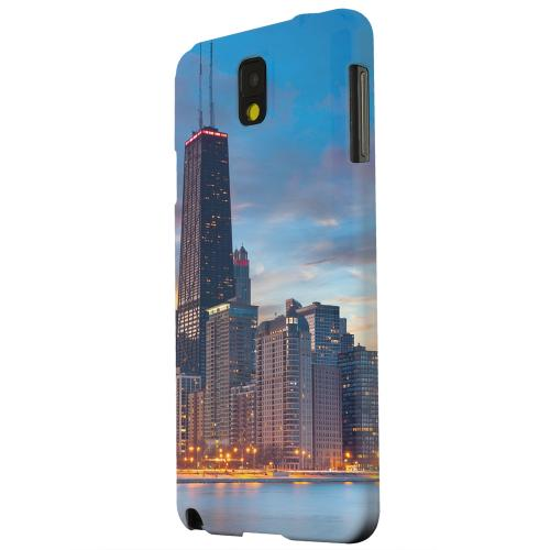 Geeks Designer Line (GDL) Samsung Galaxy Note 3 Matte Hard Back Cover - Chicago