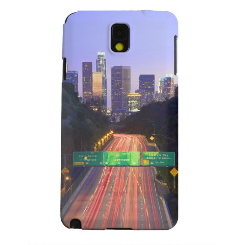 Geeks Designer Line (GDL) Samsung Galaxy Note 3 Matte Hard Back Cover - Los Angeles