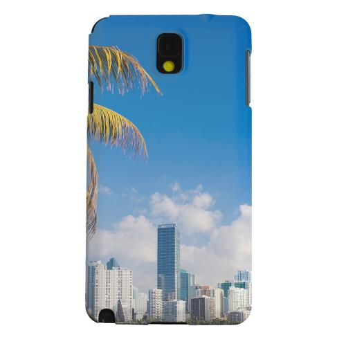 Geeks Designer Line (GDL) Samsung Galaxy Note 3 Matte Hard Back Cover - Miami