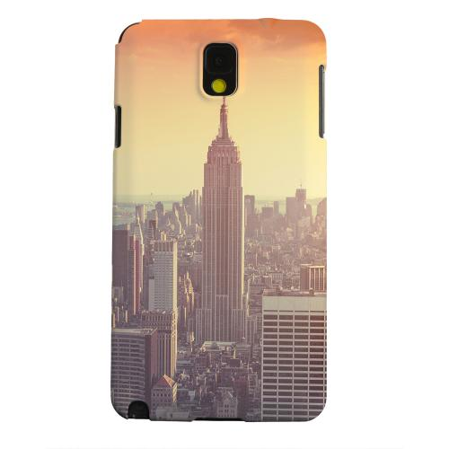 Geeks Designer Line (GDL) Samsung Galaxy Note 3 Matte Hard Back Cover - New York
